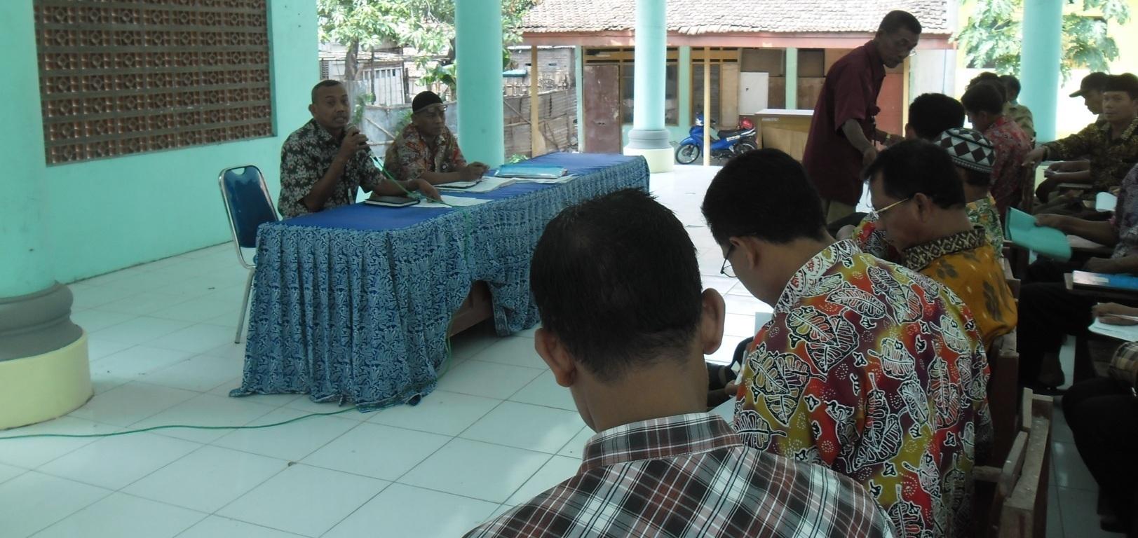 Evaluasi Pajak PBB Tahun 2014 untuk perangkat desa<BR>Wilayah Kecamatan Kalitidu